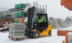 Are your lift trucks prepared for winter?
