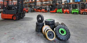 A Guide To Forklift Tires And Maintenance